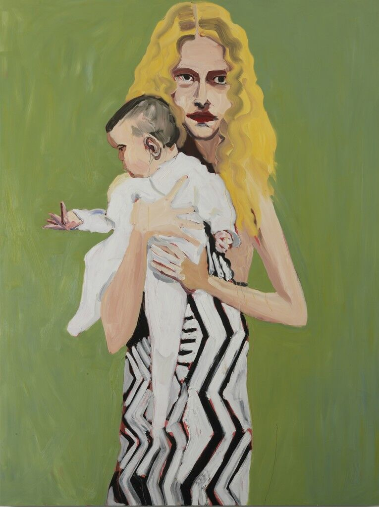 Blonde with a Baby