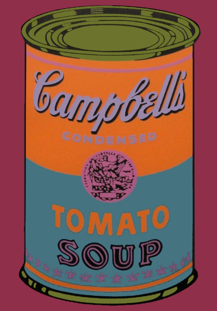 Campbell's Soup Can (Tomato)