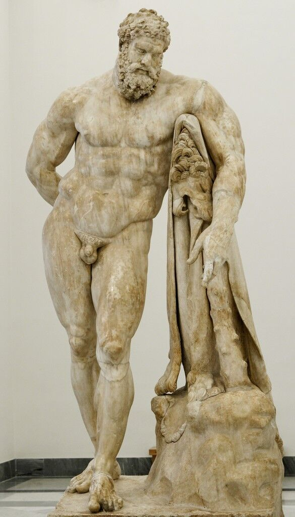 The Farnese Hercules, copy of The Weary Hercules by Lysippos
