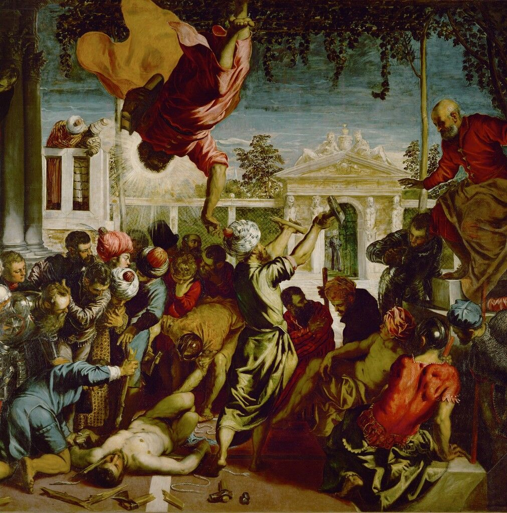 Detail of The Miracle of St. Mark freeing a Slave