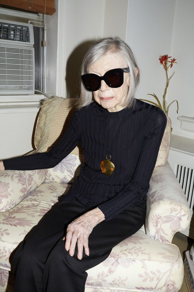 Joan Didion, Celine Campaign Spring Summer 2015, New York (Uncropped)