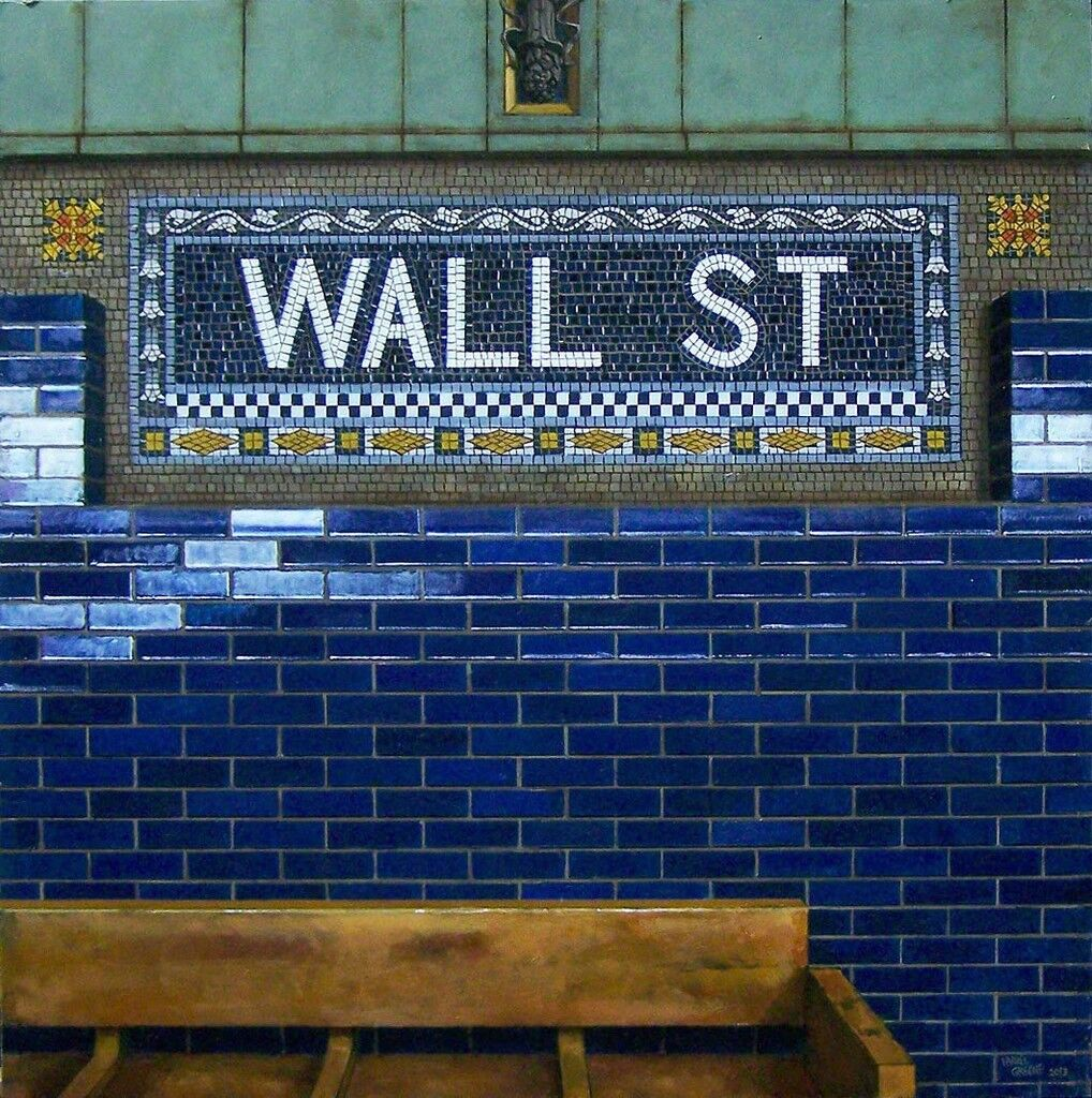 Wall St. Bench #2