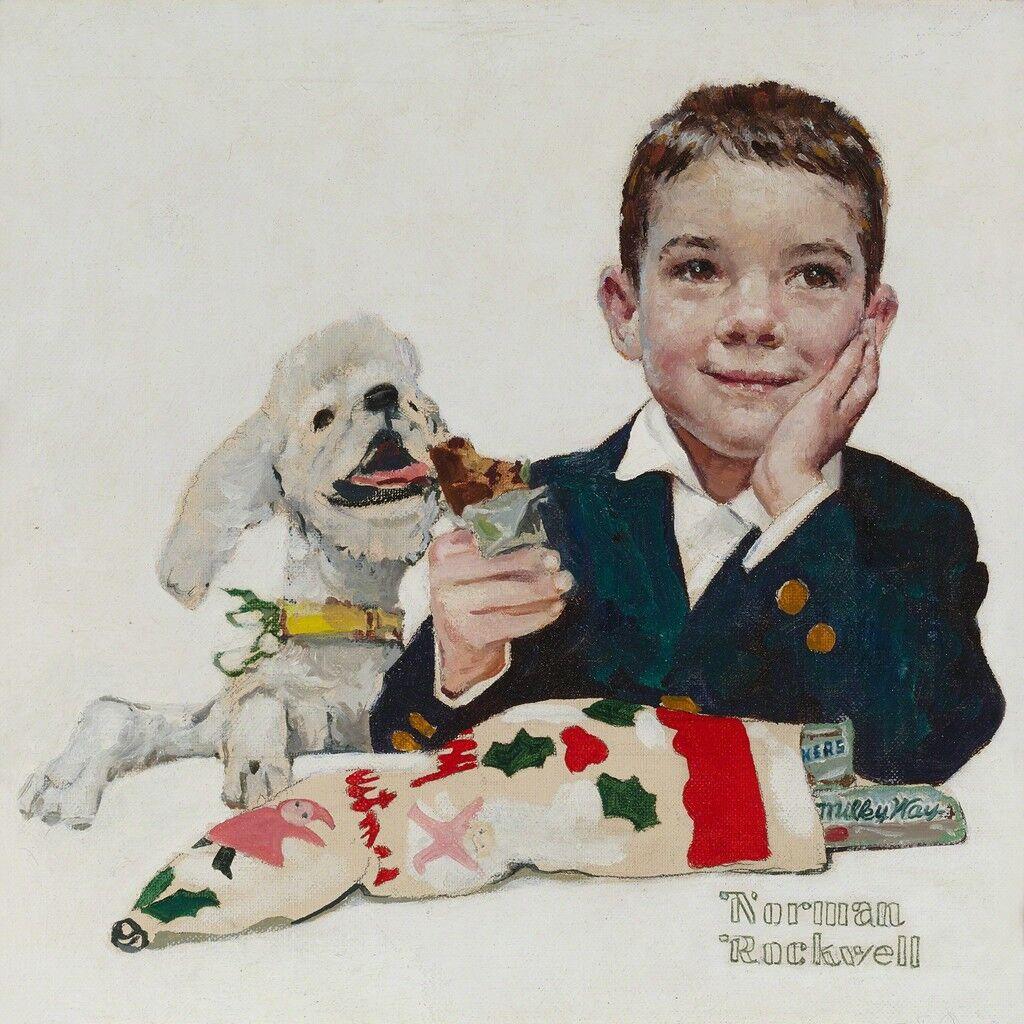 Mars Candy Company Christmas Card
