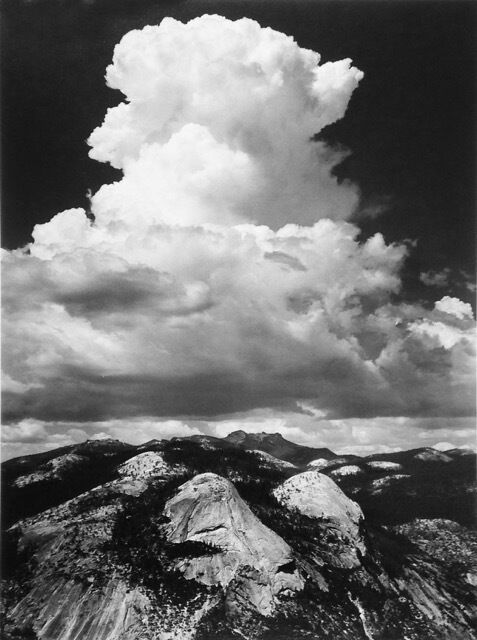 Thunderhead from Glacier Point, Yosemite National Park, California