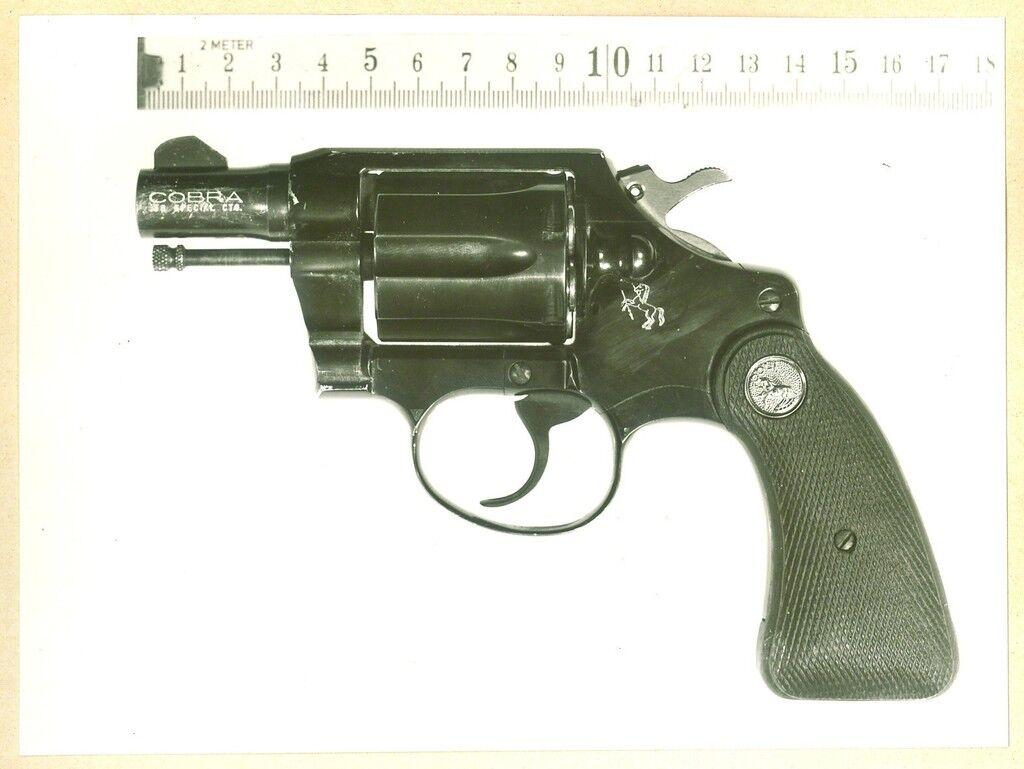 The Pistol of Monika Ertl (detail)