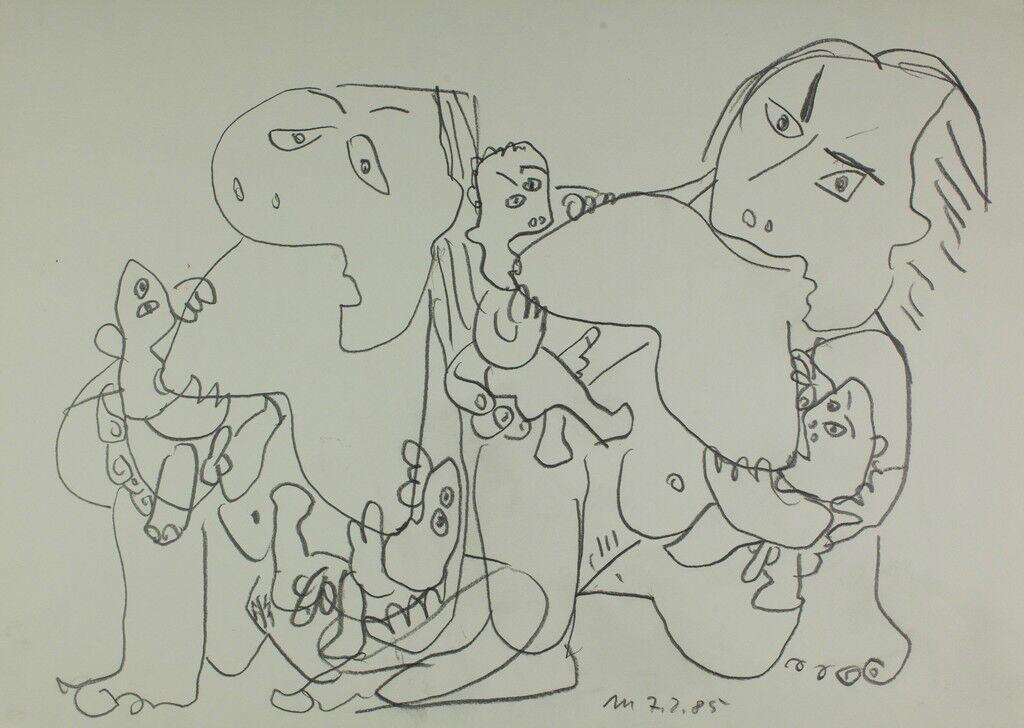 Untitled (2 Mütter 4 Babies)