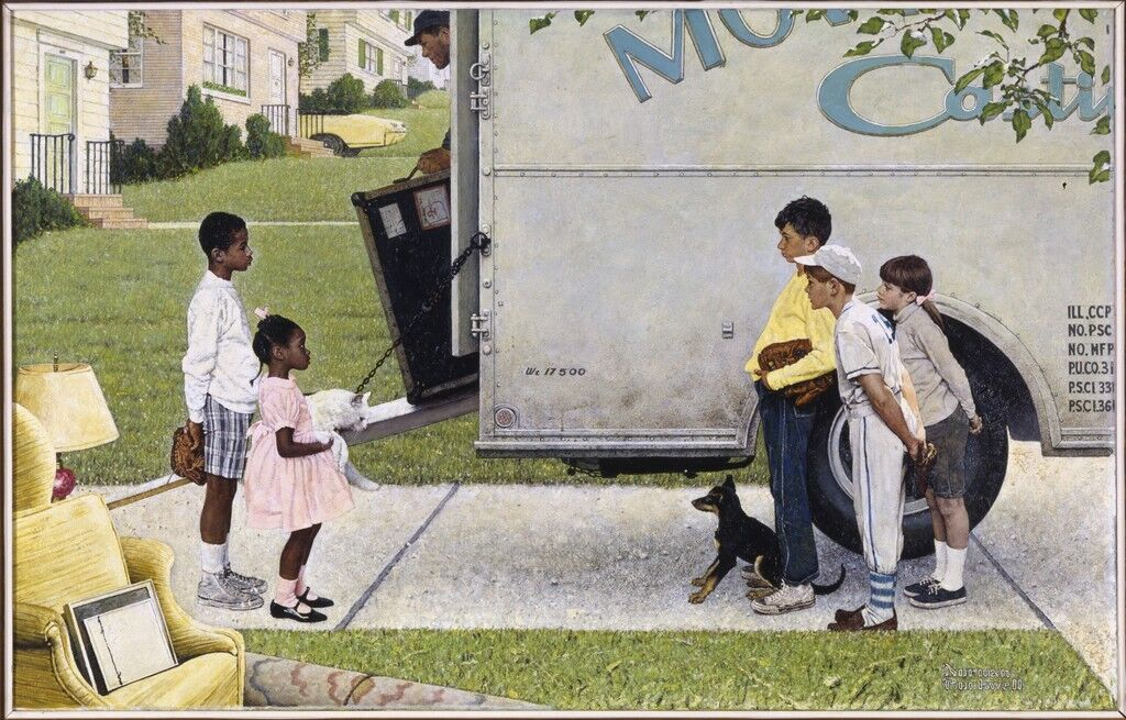 New Kids in the Neighborhood (Negro in the Suburbs)