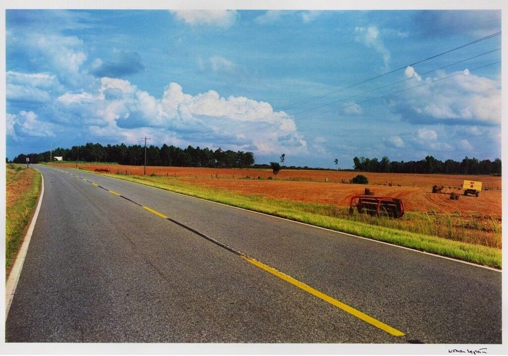 Untitled (Road with yellow lines)