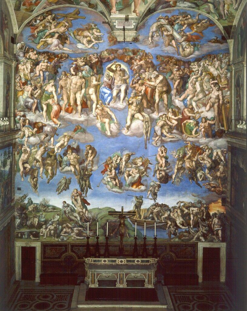 Last Judgment, Sistine Chapel