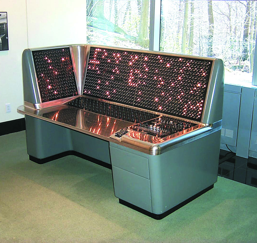 IBM Selective Sequence Electronic Calculator Operator Console