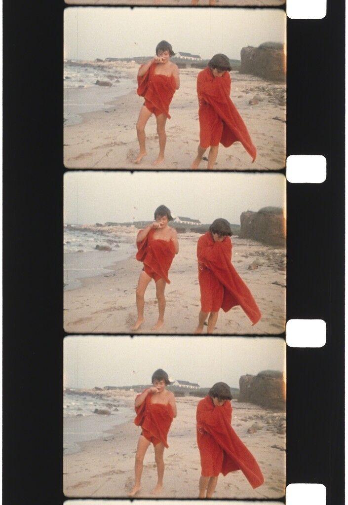 Anthony Radziwill and John Kennedy Jr., Montauk, 1972