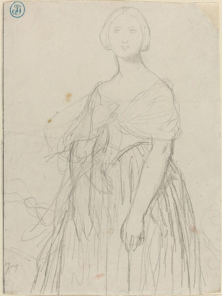 Sketch for Madame Moitessier
