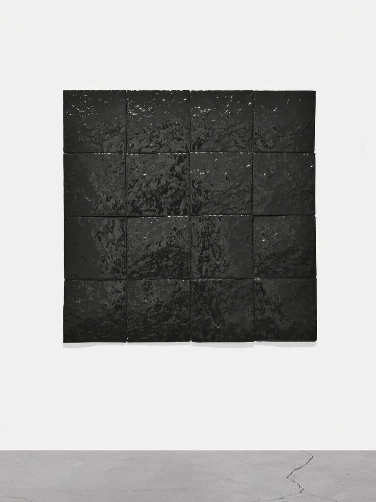 Untitled (Black Earth Series-16 Tiles)