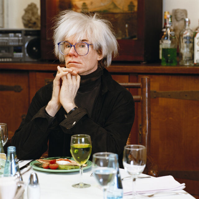 Warhol at Table
