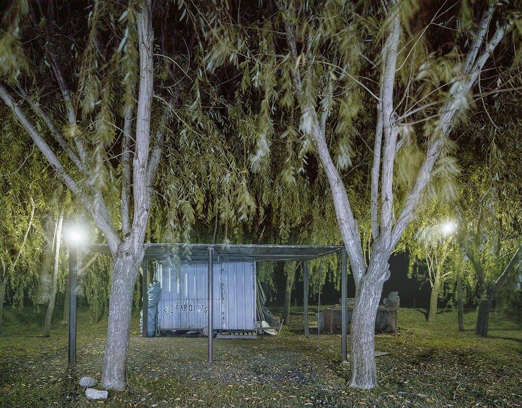 Carrito El Farolito at Night, Rte. 11, Maciel, Santa Fe Privince, Argentina