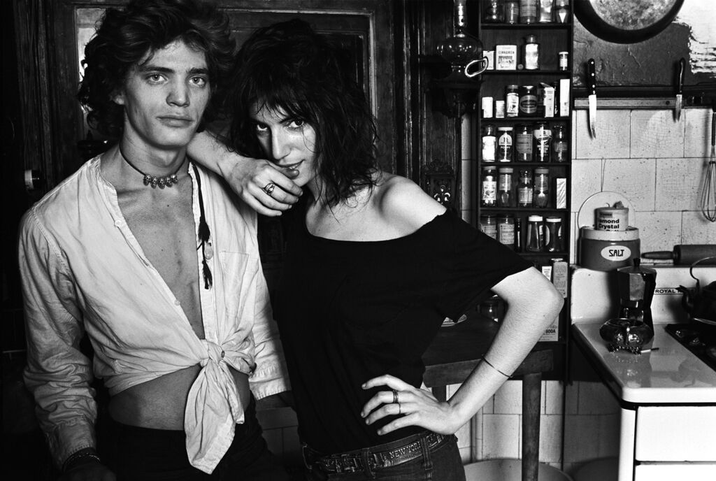 Robert & Patti II, Robert Mapplethorpe & Patti Smith, New York, NY