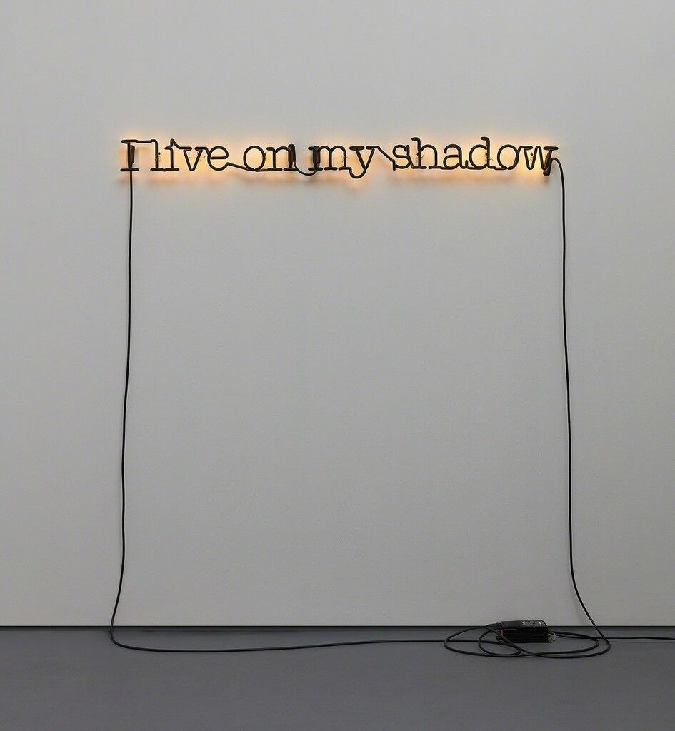 Untitled (I Live on My Shadow)
