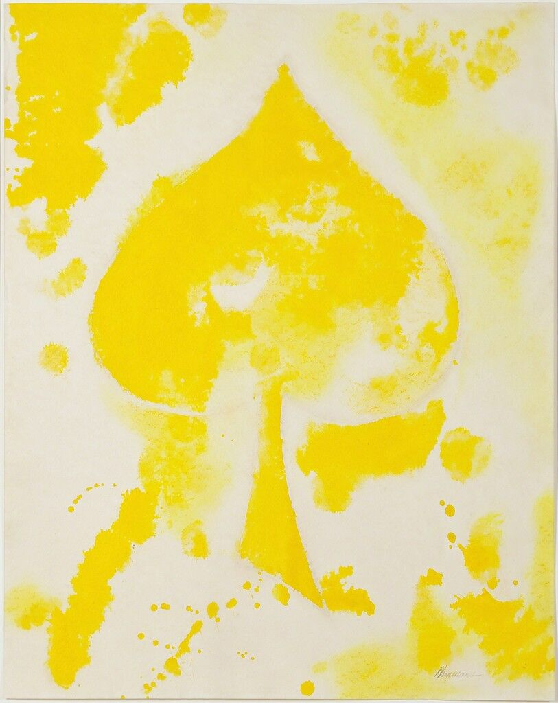 Untitled (yellow spade)