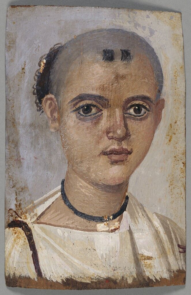 Mummy Portrait of a Youth