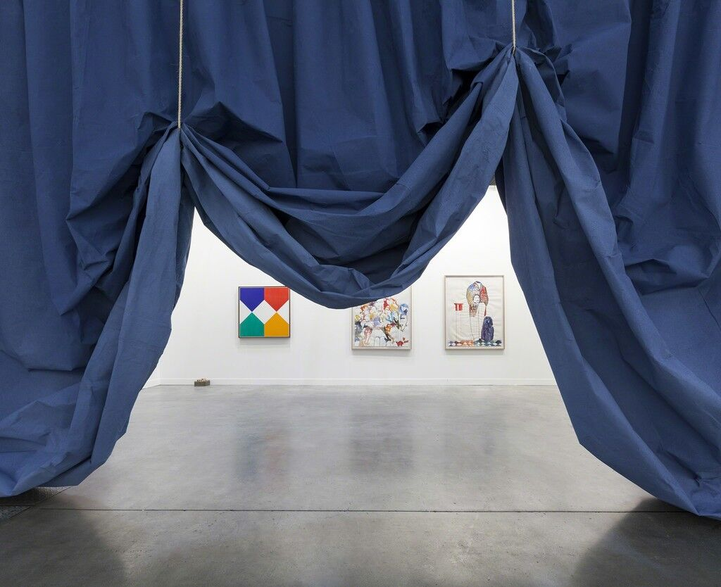 Curtain, Blue