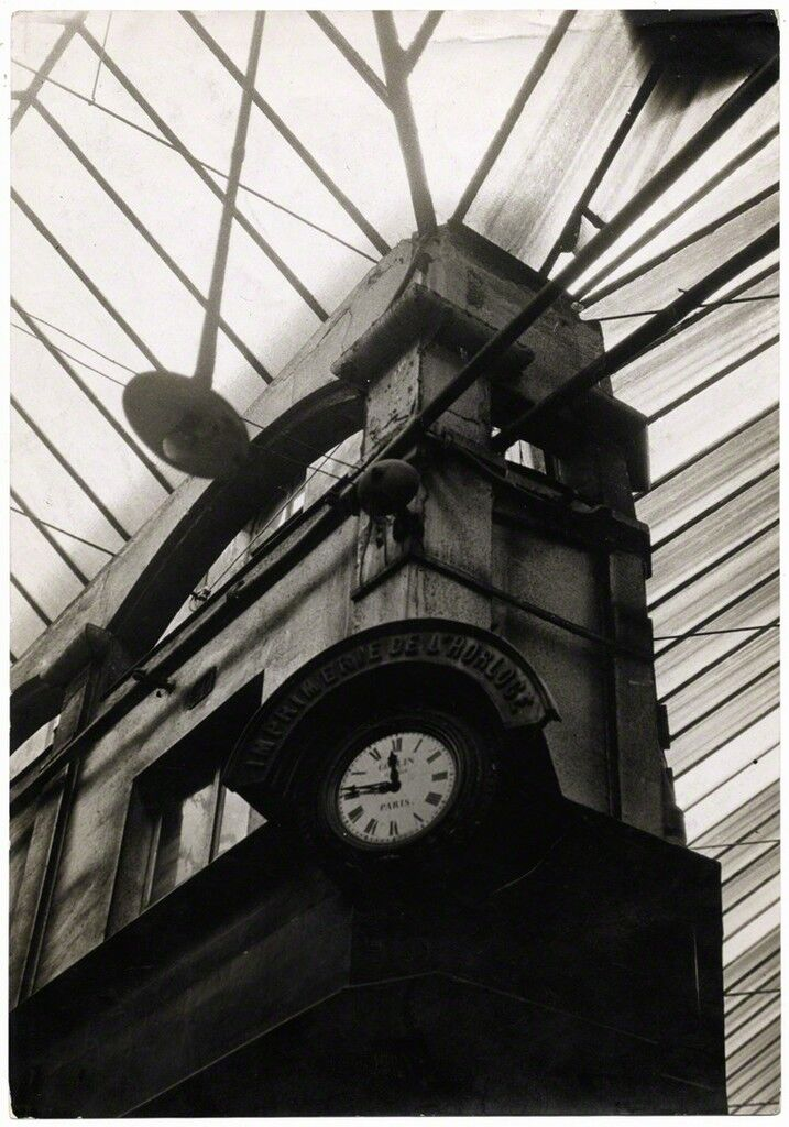 Architecture ancienne : imprimerie de l'Horloge (Ancient architecture: printing clock)