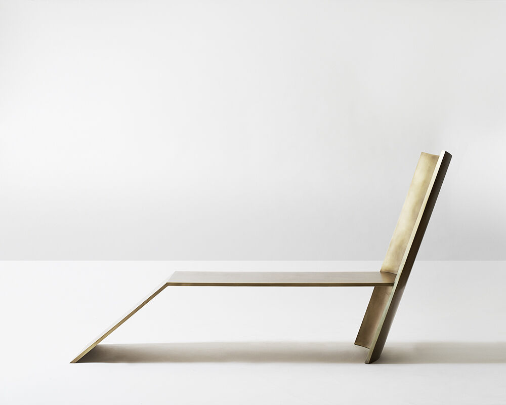Brass Ave Chaise, USA