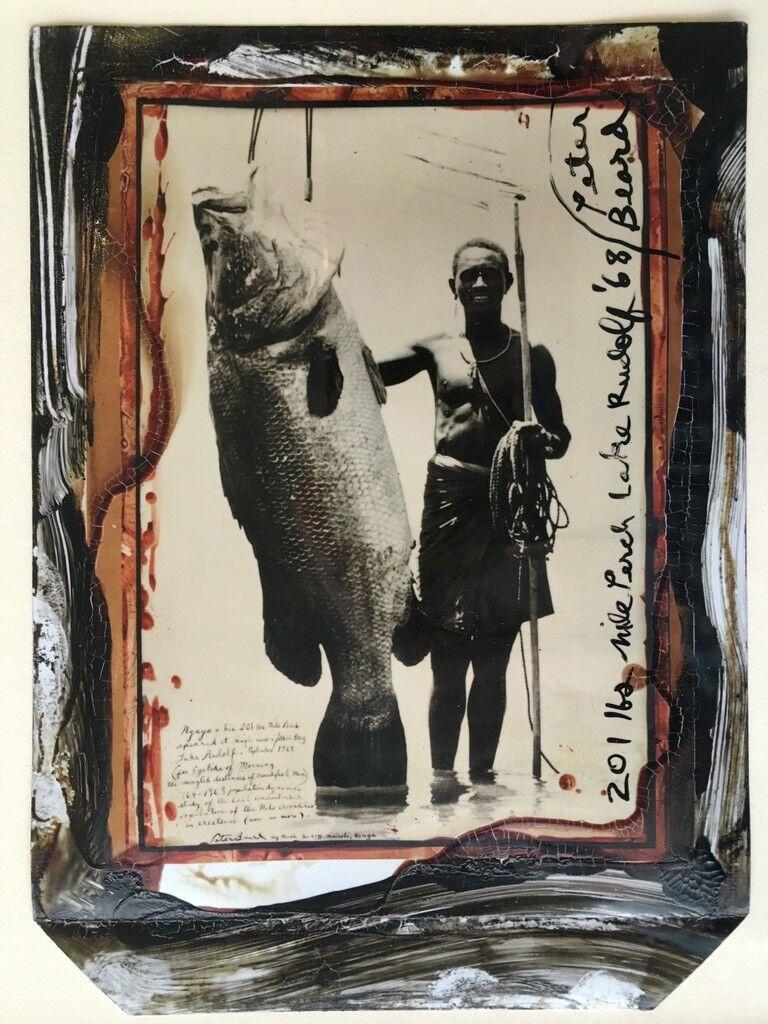 201 lbs Nile Perch, Lake Rudolf '68