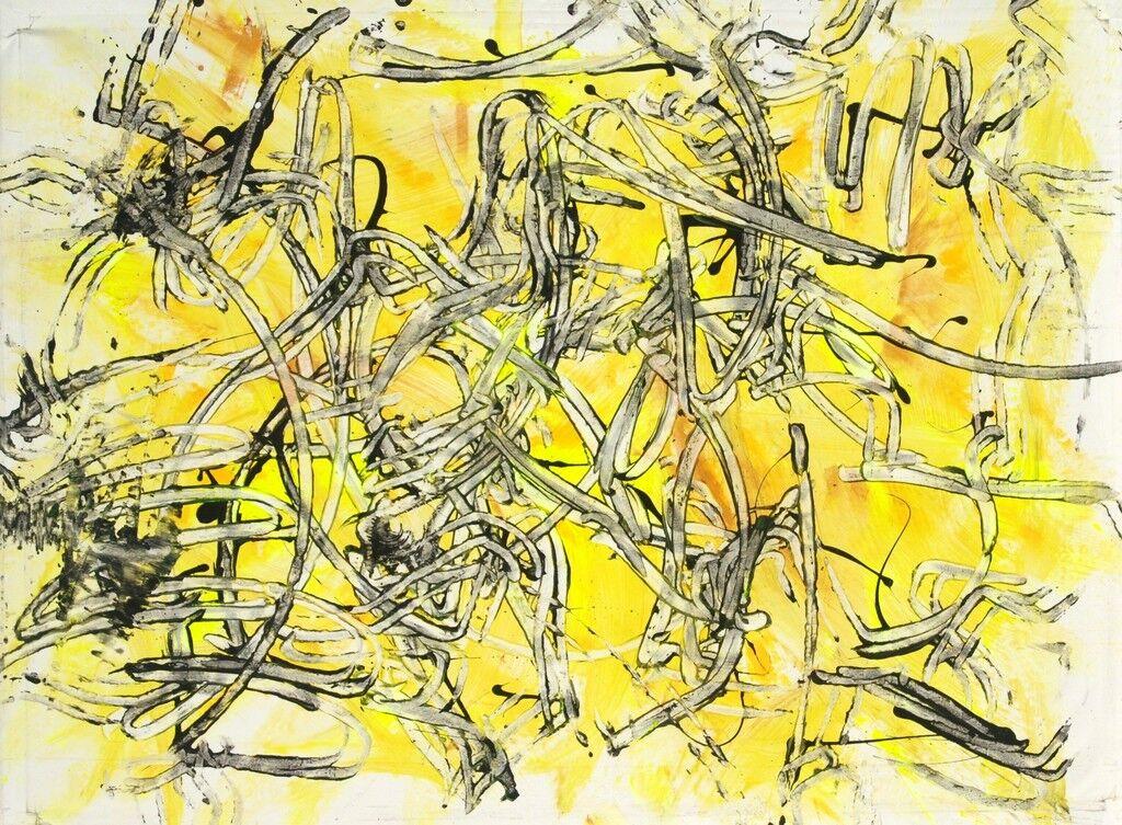 Yellow Calligrafie