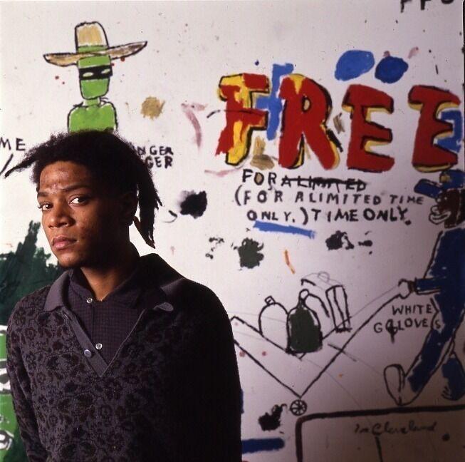 Jean Michel Basquiat NY, Free