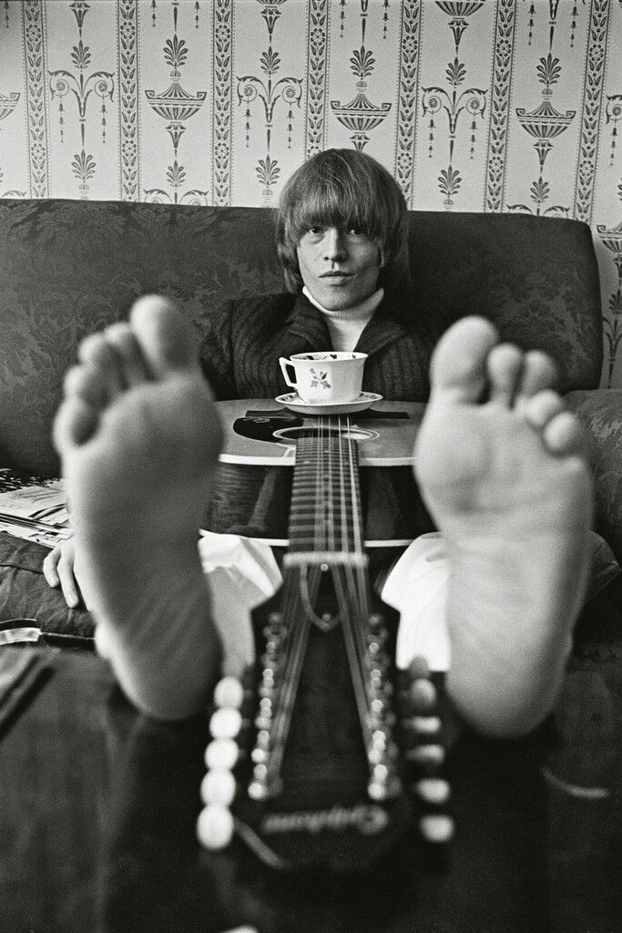 Brian Jones at Home, London, 1965