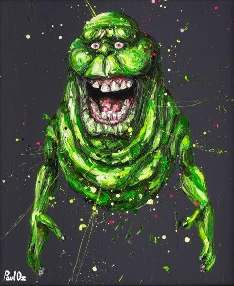 """Ugly little spud ain't he..."" (Slimer)"