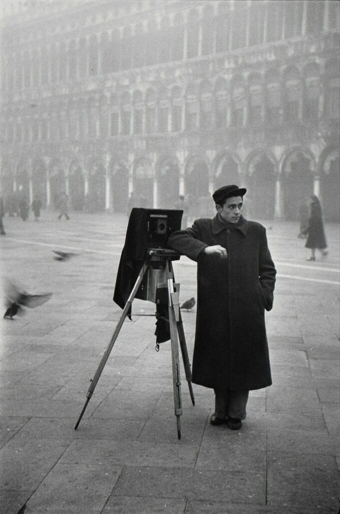 Photographer in Piazzo San Marco, Venice