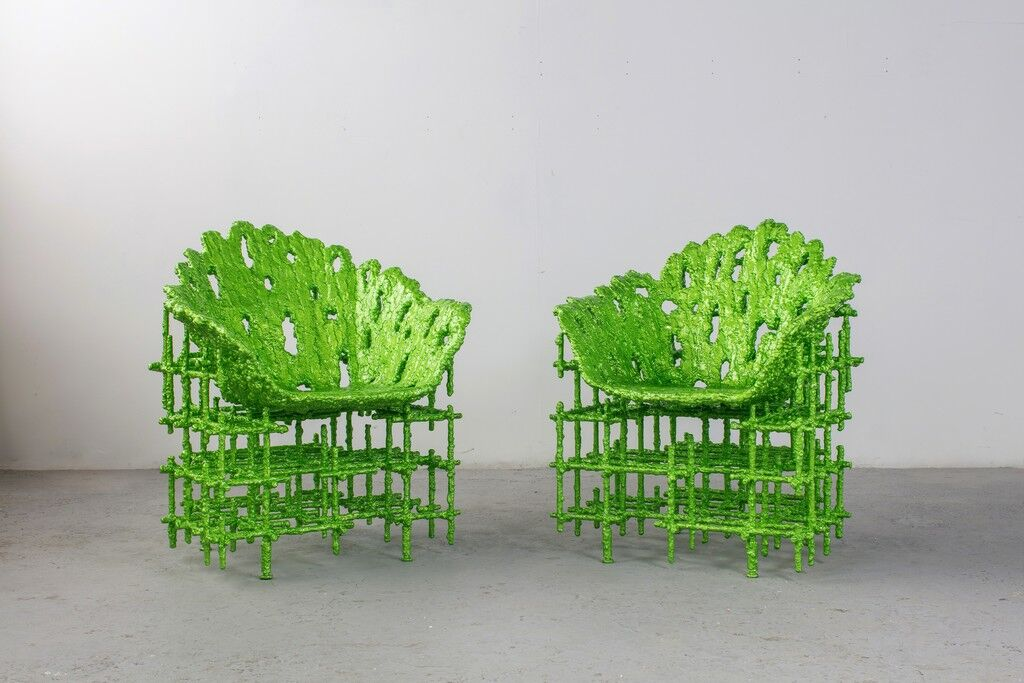 Alufoil Shell Chairs