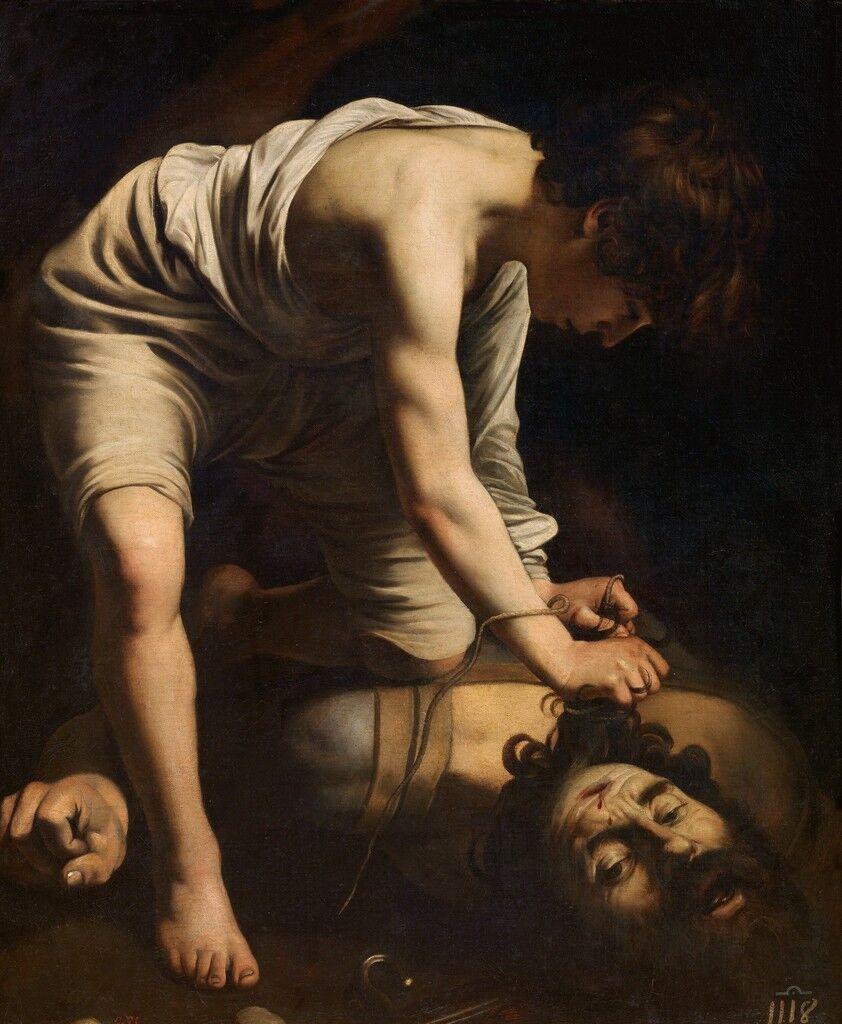 David vencedor de Goliat (David with the Head of Goliath)