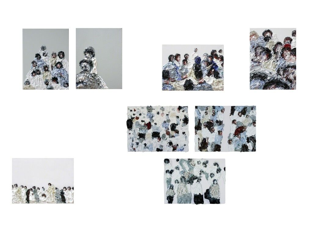 'From the Series 'Human Noise'', 8 panels