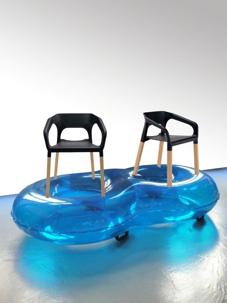 Chaise bouée double popwood