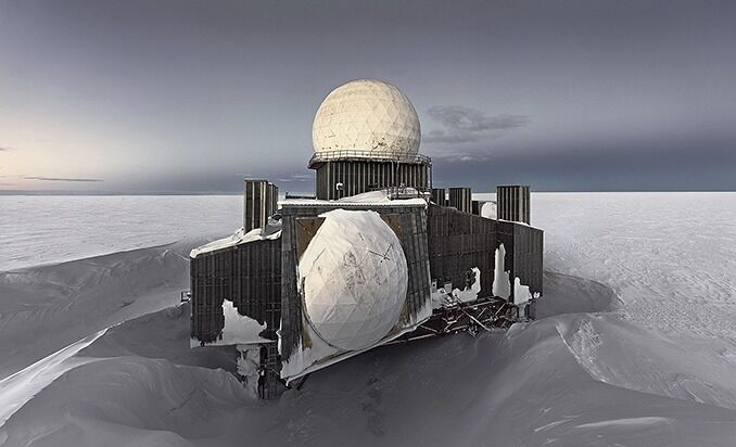 Dye2#1, Abandoned Missile Detection Station, Greenland Icesheet