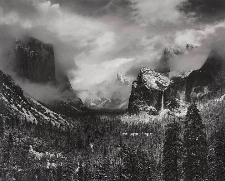 Clearing Winter Storm, Yosemite Valley, California