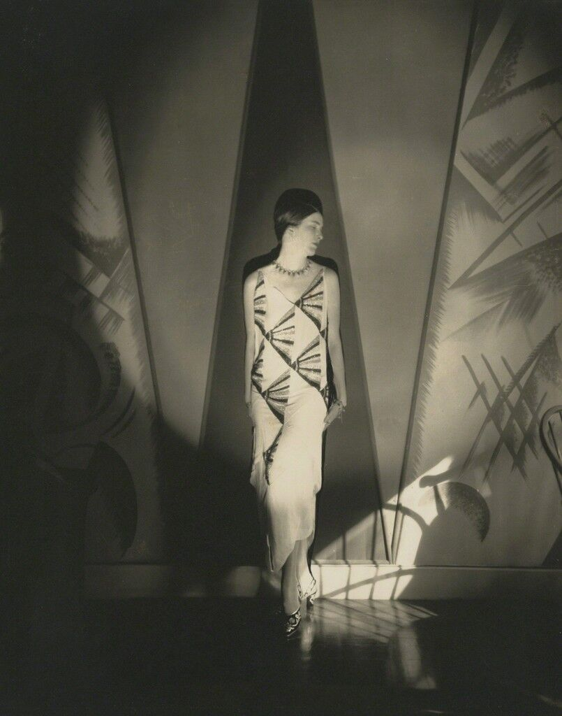 Model in a Gown by Vionnet