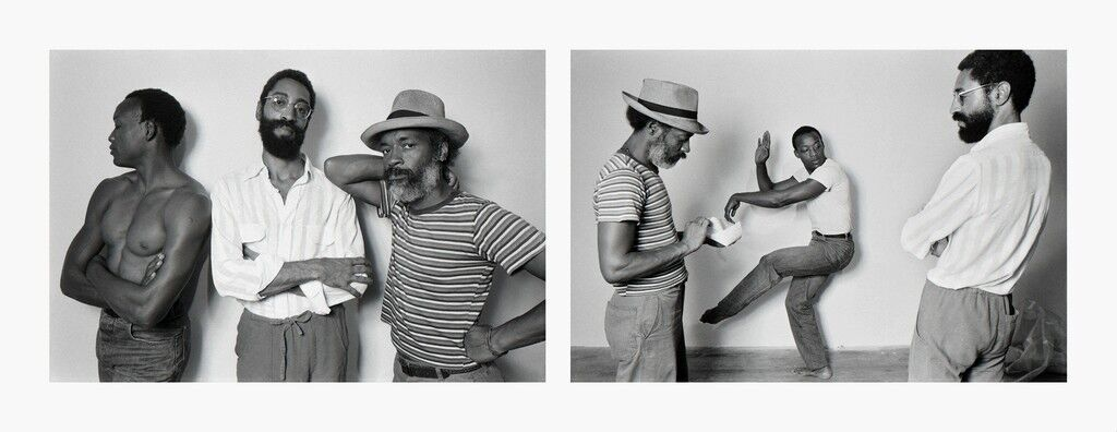 David Hammons, Bill T Jones, Philip Mallory Jones at Just Above Midtown/Downtown Gallery, 1983