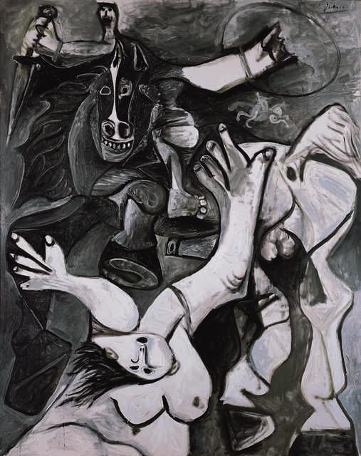 L'enlèvement des Sabines (The Rape of the Sabines)