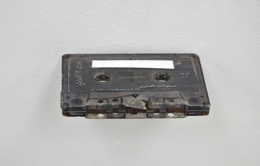 Untitled (Cassette pulled from car crash)