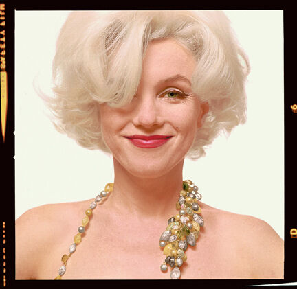 """Marilyn Monroe: From """"The Last Sitting"""""""