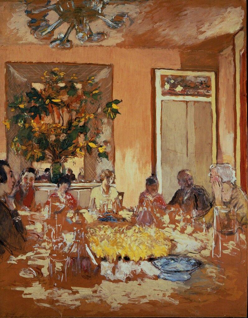 La salle a manger au château de Clayes