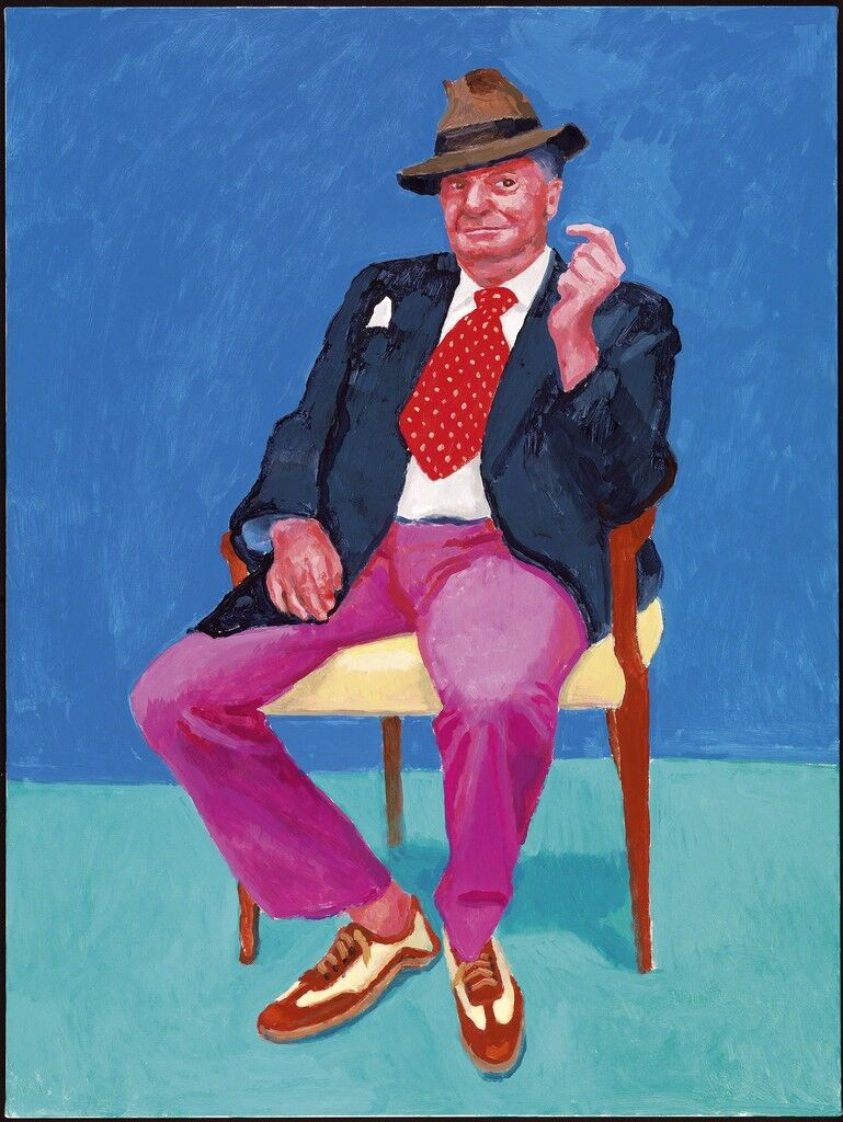 """""""Barry Humphries, 26th, 27th, 28th March 2015"""" from """"82 Portraits  and 1 Still-Life"""""""
