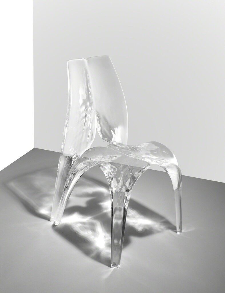 Chair 'Liquid Glacial'