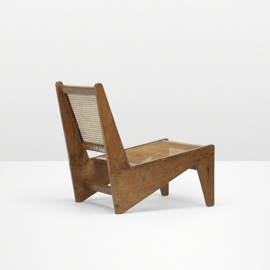 Kangourou lounge chair from Chandigarh