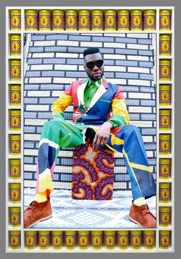African Boy Sittin'