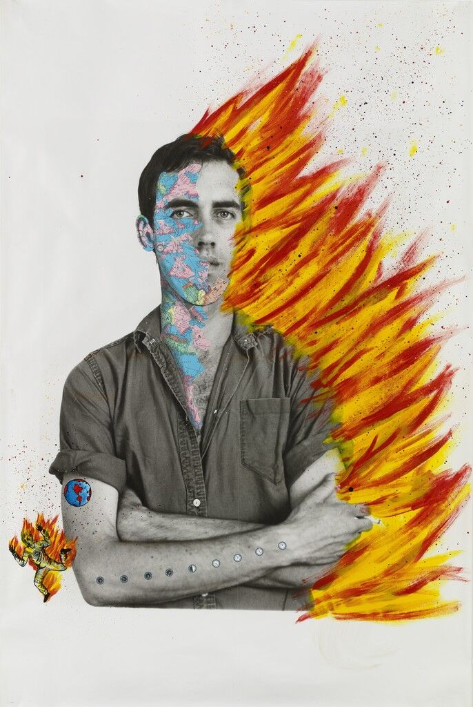 Self-Portrait of David Wojnarowicz