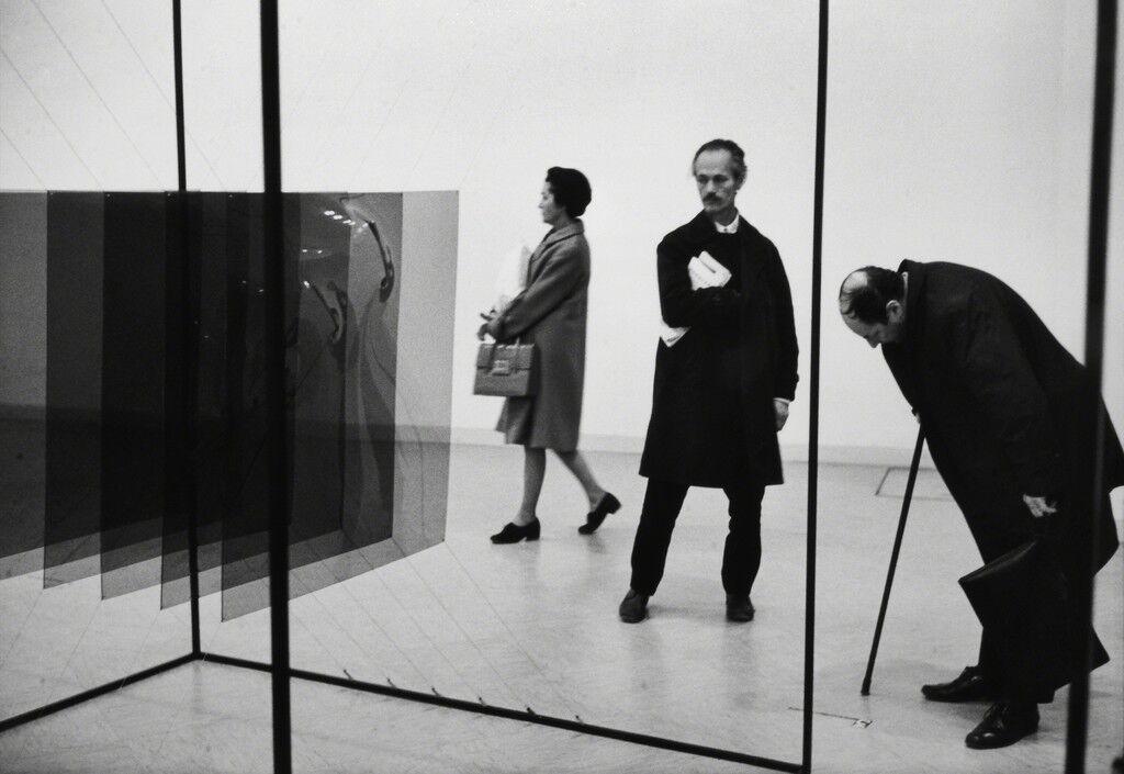 PIOTR KOWALSKY EXHIBITION, MUSEE D'ART MODERNE DE LA VILLE DE PARIS, PARIS, 1969